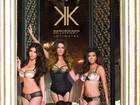 Irmãs Kardashian aparecem de lingerie em campanha de grife