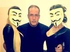 Quem são elas? Supostas panicats posam mascaradas no Twitter