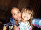 'A fase mais difícil já acabou', festeja Luiza Valdetaro sobre a filha, Malu