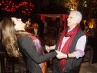 Elenco prestigia festa de encerramento de 'Fina Estampa'