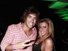 Ex-BBB Mau Mau curte festa no Rio