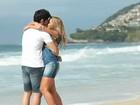 Ex-BBBs Rodrigão e Adriana posam para campanha em clima de romance