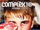 Justin Bieber leva 'surra' e aparece ensanguentado em capa de revista