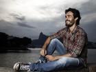 Erom Cordeiro se encanta com o visual da Urca, no Rio