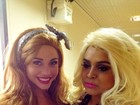 Preta Gil grava 'Casseta' e posta no Twitter foto com ex-BBB Maria