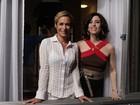 Andréa Beltrão e Fernanda Torres gravam nova temporada de 'Tapas'