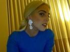 Oi? Lady Gaga recorre a chupetas de cristal para se acalmar, diz jornal