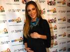 'Davi tem um pouco de ciúme', diz Claudia Leitte sobre segunda gravidez