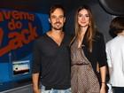 Paulo Vilhena e Thaila Ayala vão contracenar pela primeira vez na TV