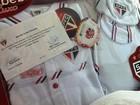 Filho de Luana Piovani ganha uniforme infantil do São Paulo