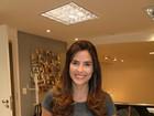 Rafaela Mandelli muda o visual em salão de beleza no Rio