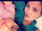 Luiza Valdetaro posta foto com a filha, em tratamento contra leucemia
