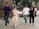 Famosos vão ao velório de Chico Anysio no Rio