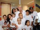 Xuxa visita nova unidade do Hospital de Câncer de Barretos, em São Paulo
