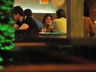 Giovanna Ewbank janta com Joaquim Lopes em Vitória