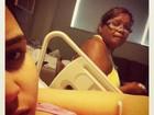 Com anemia, Perlla segue internada em maternidade sem previsão de alta
