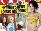 'Octomãe' posa só de calcinha e diz a revista que está há 13 anos sem sexo