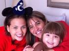 Em tratamento contra leucemia, filha de Valdetaro ganha ovo de Páscoa