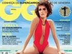 Deborah Secco aparece de maiô 'engana mamãe' em capa de revista