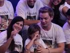 Filho de Fabiana vai às lágrimas na final do 'BBB 12'