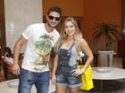 Renata e Ronaldo, do 'BBB12', dormem juntos em hotel do Rio