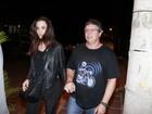 Boninho vai com a mulher Ana Furtado à festa de encerramento do 'BBB 12'
