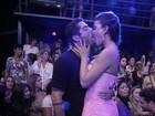 De tirar o fôlego! Yuri dá beijão de língua em Laisa na final do 'BBB 12'