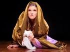 Cristiana Oliveira interpreta Maria, mãe de Jesus, em Goiânia
