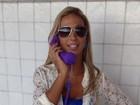 Antenada: Valesca Popuzuda adere ao 'pop phone'