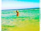 'Paraíso!' Mariana Rios curte férias em praia