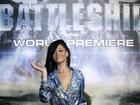 Rihanna prestigia pré-estreia de seu primeiro filme, 'Battleship'