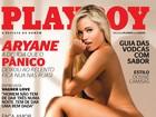 Divulgada capa da 'Playboy' de Aryane Steinkopf