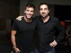Bruno Gagliasso e Anderson Silva curtem noite no Rio