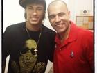 Neymar tieta Rodrigo Sant'anna: 'Ai, como eu tô bandida'