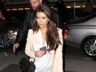 Kim Kardashian e Kanye West jantam juntos em Nova York