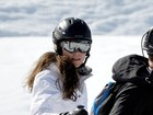 Kate Middleton e príncipe William esquiam nos Alpes franceses