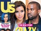 Kanye West estaria apaixonado por Kim Kardashian