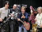 'Oi, Floripa', diz Paul McCartney em chamada para o show dele