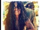 Juliana Paes posta foto caracterizada de Gabriela e toda suja