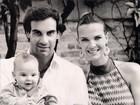 Fofura! Marido de Letícia Birkheuer mostra fotos do filho em rede social