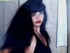 Solange Gomes posta foto da adolescência com cabelão e maiô