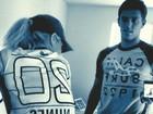 Danielle Winits posta foto usando a camisa de futebol do novo namorado