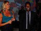 Pelé e Hortência curtem show de Carlinhos Brown e Vanessa da Matta