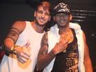 Ex-BBB Diogo participa de show de axé em Minas Gerais
