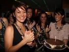 Geovanna Tominaga comemora aniversário no Rio