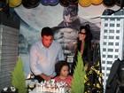 Família de Ronaldo se reúne no aniversário do filho Alex