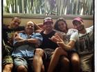 Após micareta, Laisa, Yuri e outros ex-BBBs vão à casa de João Carvalho