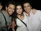 Henri Castelli e Fernanda Paes Leme curtem show em Fortaleza