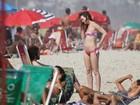 Turista incansável, Leighton Meester, a Blair de 'Gossip Girl', passeia pelo Rio