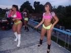 De microshort, Mulher Melancia leva  fãs ao delírio no Rio
